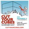 cut your cubes poster