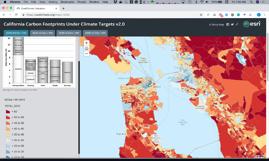 coolclimate maps of SF Bay Area